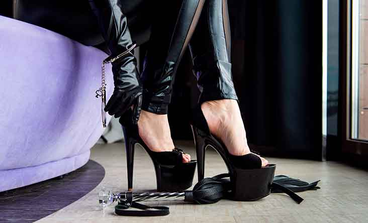 Sexy sko og high heels